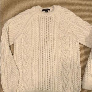 Unused Brooks Brothers Cable-Knit Sweater